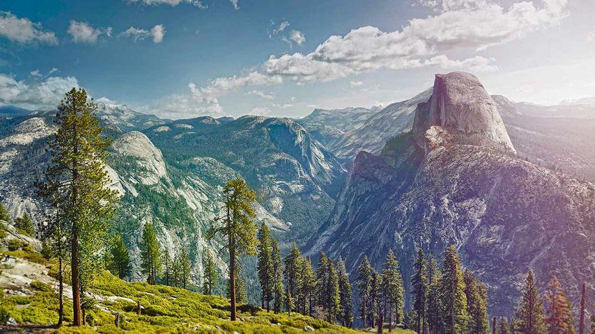 「ヨセミテ国立公園」アメリカ, カリフォルニア州