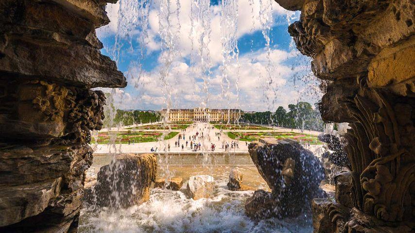 「ネプチューンの噴水」オーストリア, ウィーン