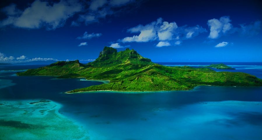 「ボラボラ島」フランス領ポリネシア, タヒチ