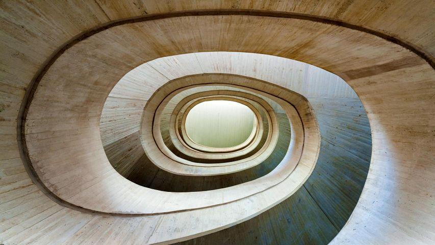 「ソフィア王妃芸術宮殿の内部」スペイン, バレンシア