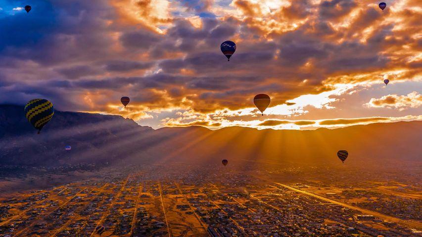 「アルバカーキ国際バルーンフェスタ」米国ニューメキシコ州