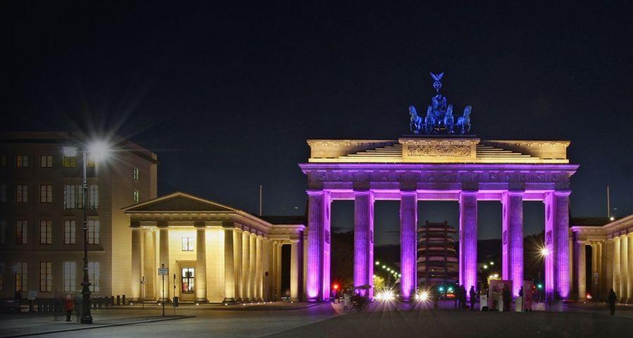 「ライト・フェスティバル」ドイツ, ベルリン, ブランデンブルク門