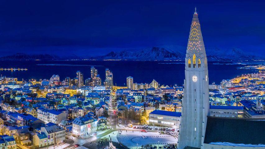 「レイキャヴィーク」アイスランド