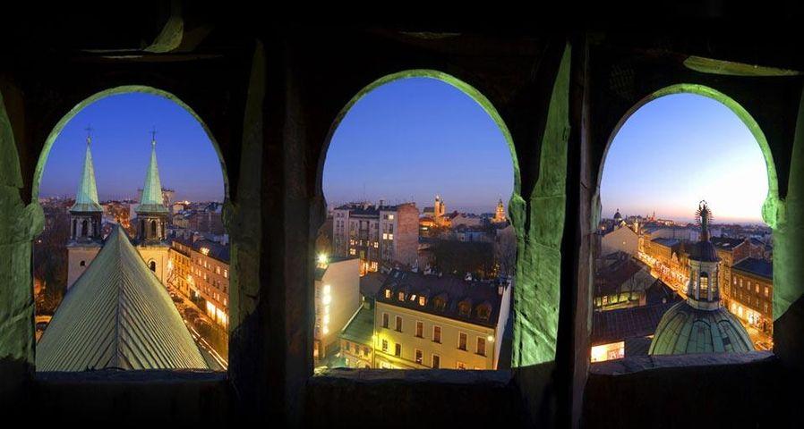 「クラクフ旧市街」ポーランド