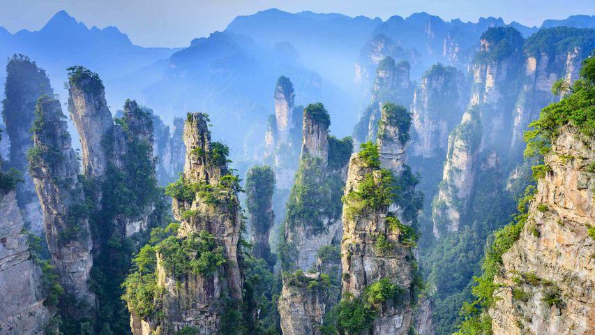 「張家界国家森林公園」中国, 湖南省