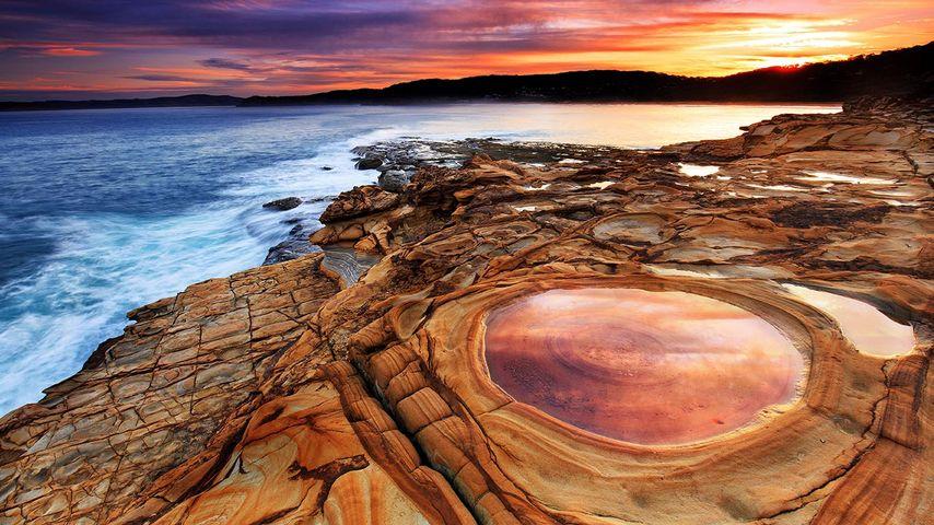 「パティ・ビーチ」オーストラリア, ニューサウスウェールズ州