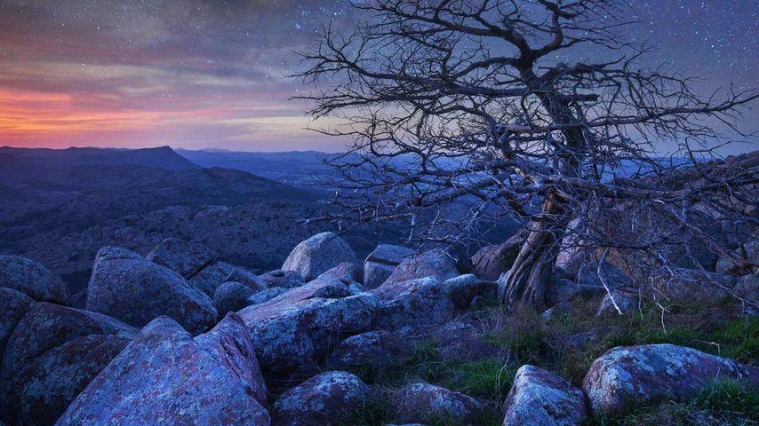 「スコット山」アメリカ, オクラホマ州