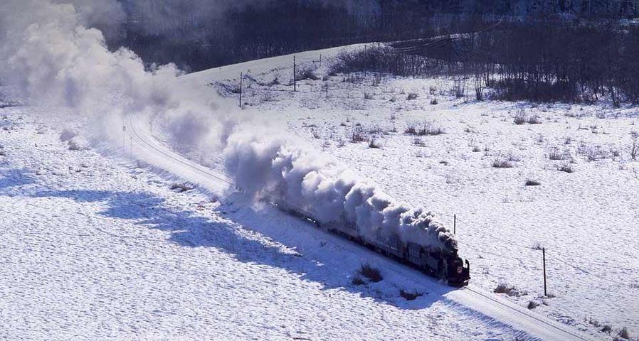 「SL冬の湿原号」北海道, 釧路湿原