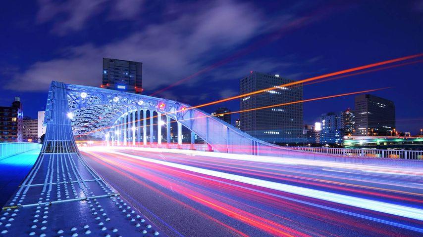 「永代橋」東京, 隅田川