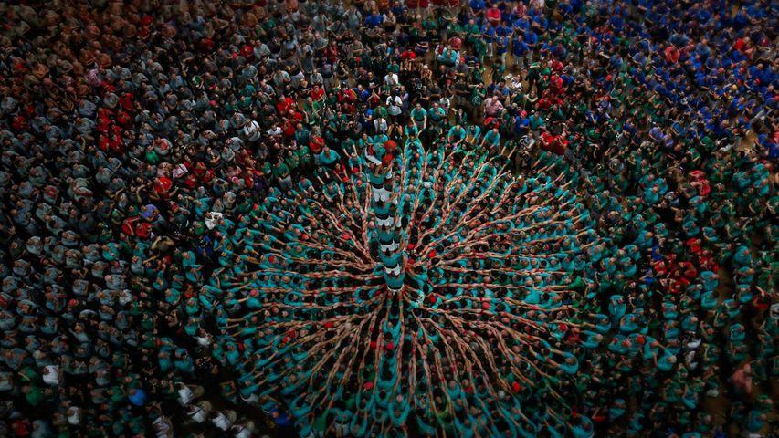 「人間の塔」スペイン, タラゴナ