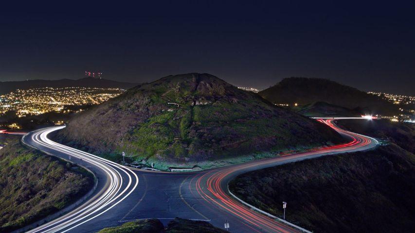「ツインピークス・ブールバード」アメリカ, カリフォルニア州