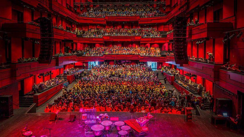 「ハルパ・レイキャヴィク・コンサートホール」アイスランド
