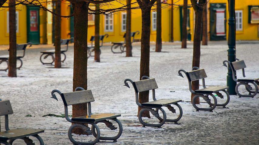 「カンパ島のベンチ」チェコ, プラハ