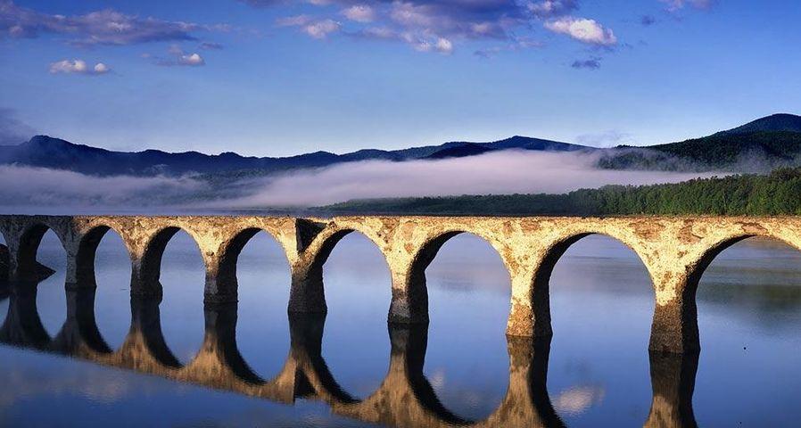 「タウシュベツ橋梁」北海道, 十勝,  上士幌町
