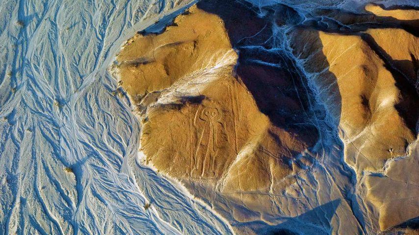 「ナスカの地上絵」ペルー