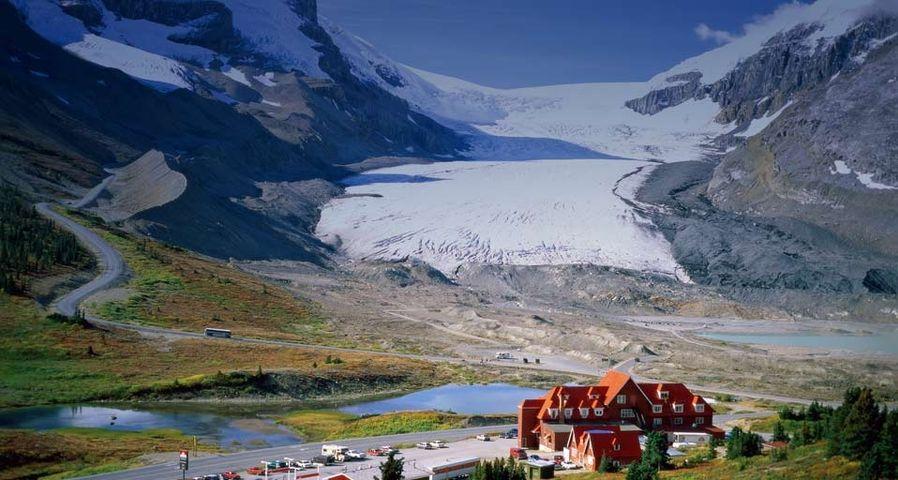 「アサバスカ氷河」カナダ, アルバータ州