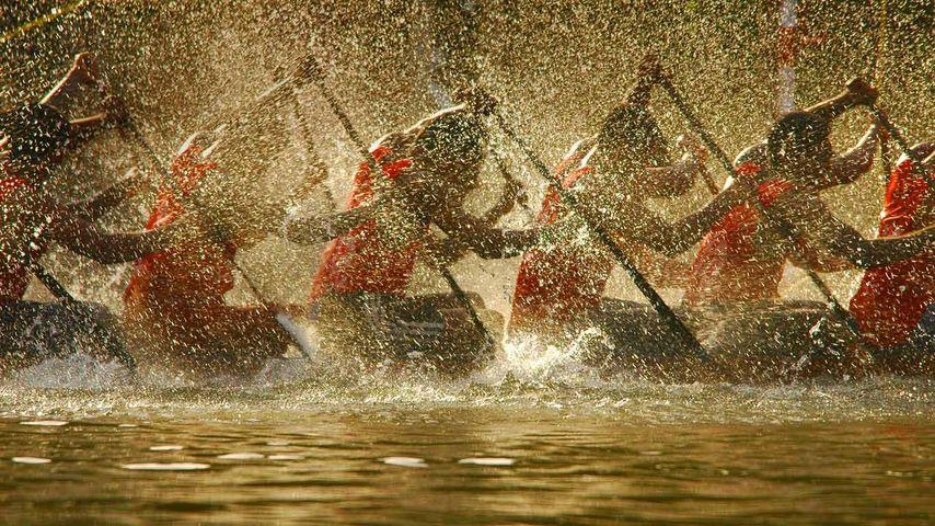 「ネルー・トロフィー・ボートレース」インド, ケララ州