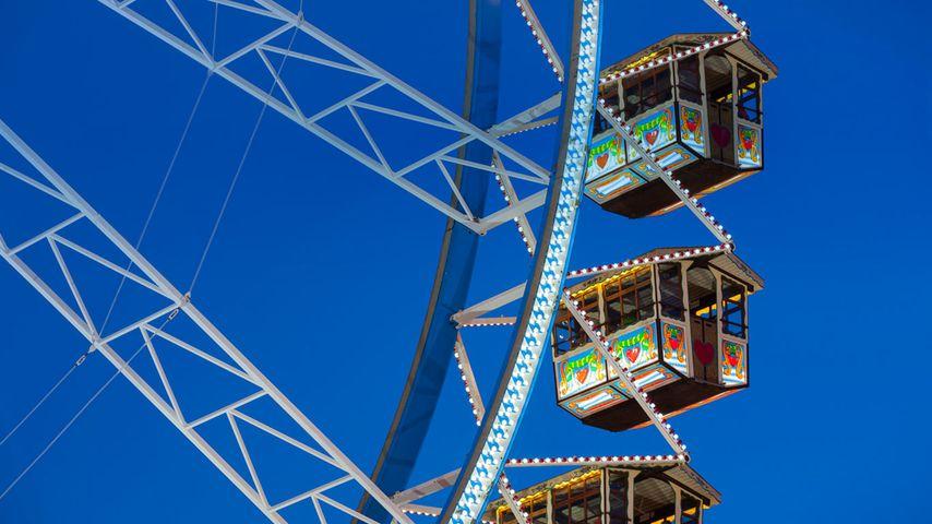 「オクトーバーフェストの観覧車」ドイツ, バイエルン州