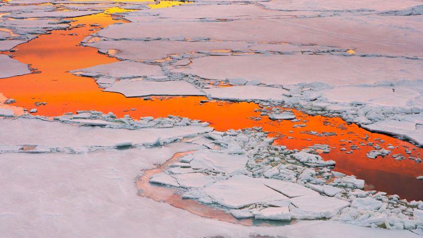 「南極海峡」南極半島