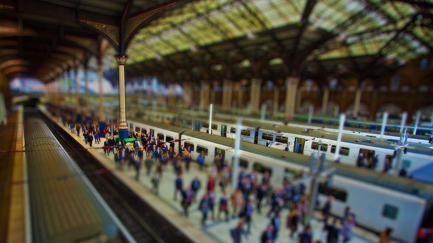 「リバプール・ストリート駅」イギリス, ロンドン