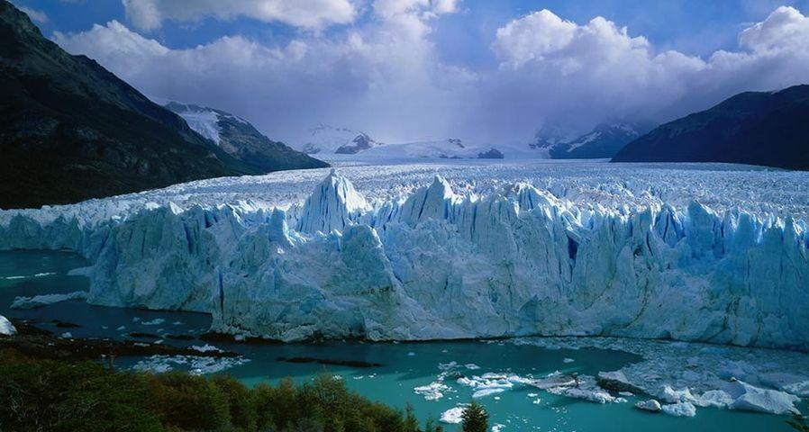 「ペリト・モレノ氷河」アルゼンチン, パタゴニア