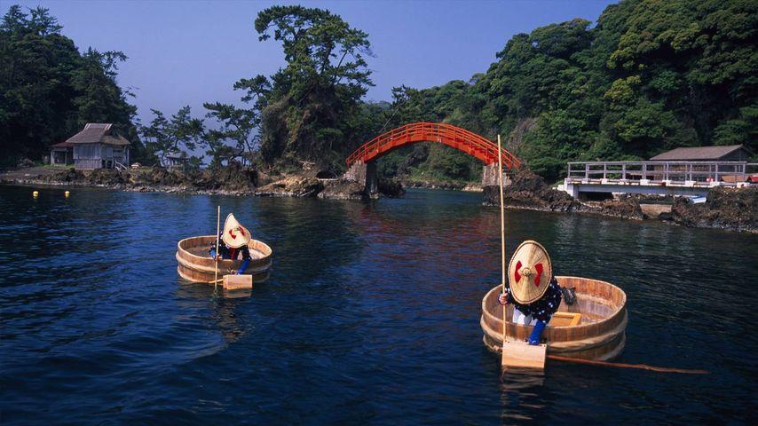 「たらい舟」新潟, 佐渡