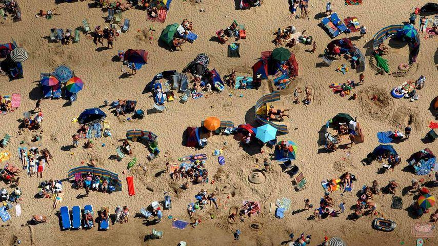 「ウェイマスビーチ」イギリス, ドーセット
