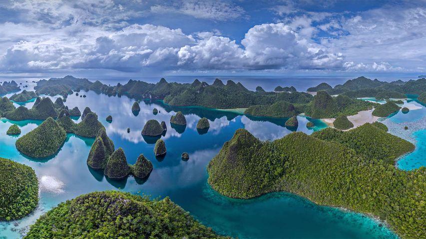 「ラジャ・アンパット諸島」インドネシア, 西パプア州