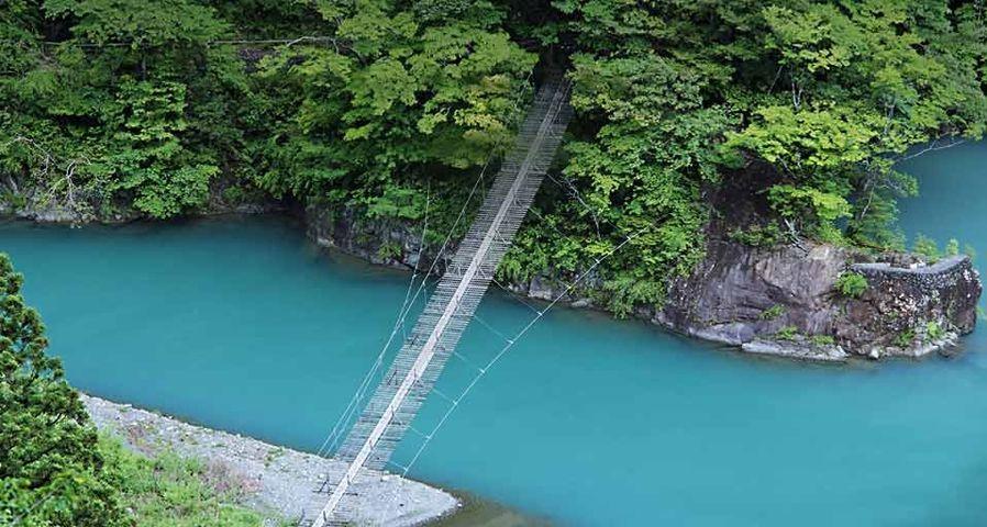 「夢の吊り橋」静岡, 寸又峡
