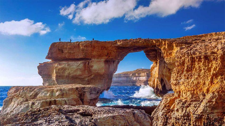 「アズール・ウインドウ」マルタ, ゴゾ島