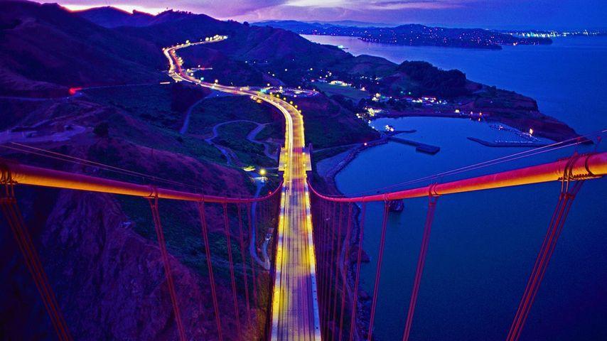 「ゴールデンゲートブリッジ」アメリカ, カリフォルニア州