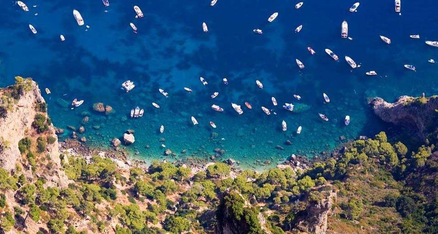 「ティレニア海のボート」イタリア, ティレニア海