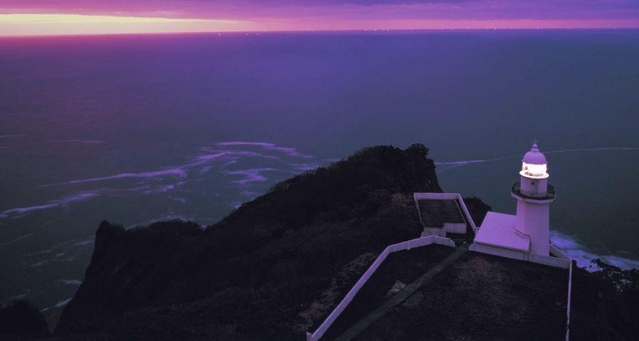 「地球岬灯台」北海道, 室蘭
