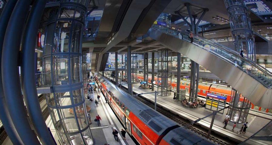 「ベルリン中央駅」ドイツ, ベルリン