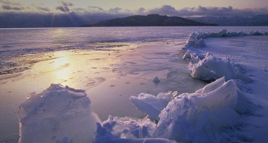 「御神渡り」北海道, 屈斜路湖