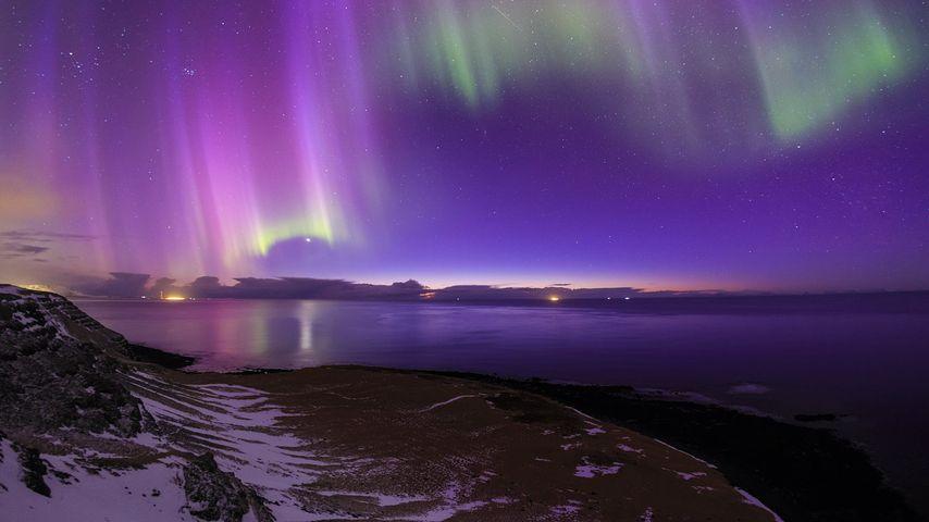 「オーロラ」アイスランド