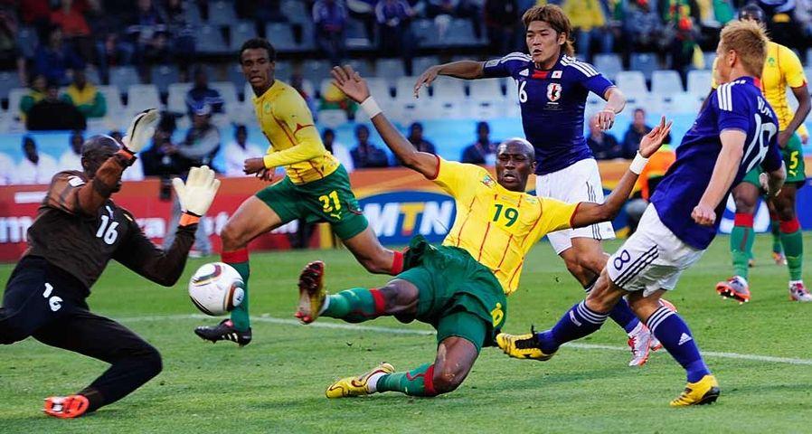 「FIFAワールドカップ2010 日本vsカメルーン戦」