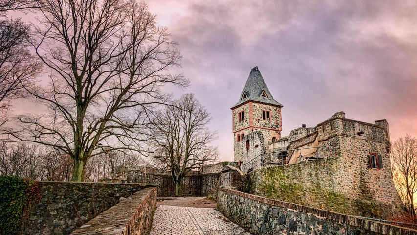 「フランケンシュタイン城」ドイツ, ダルムシュタット
