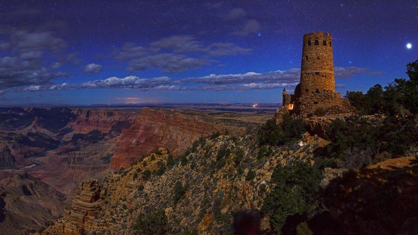 「デザートビュー・ウォッチタワー」アメリカ, アリゾナ州