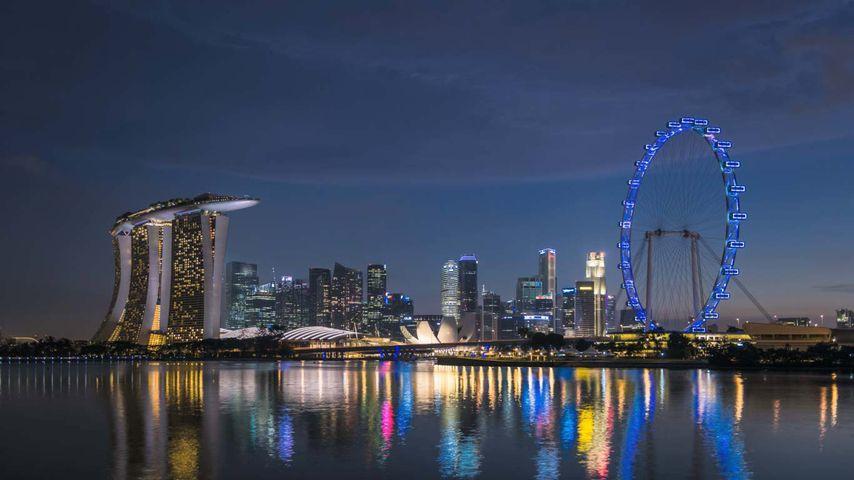 「マリーナ湾」シンガポール