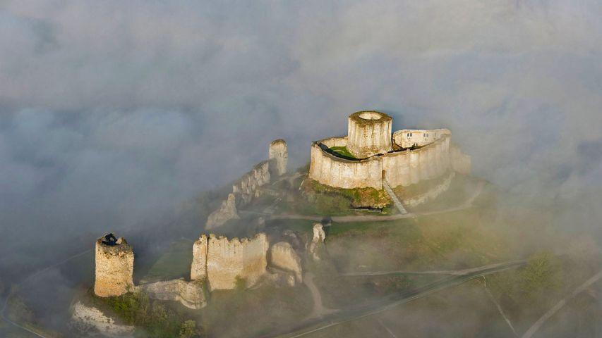 「ガイヤール城」フランス, ノルマンディー