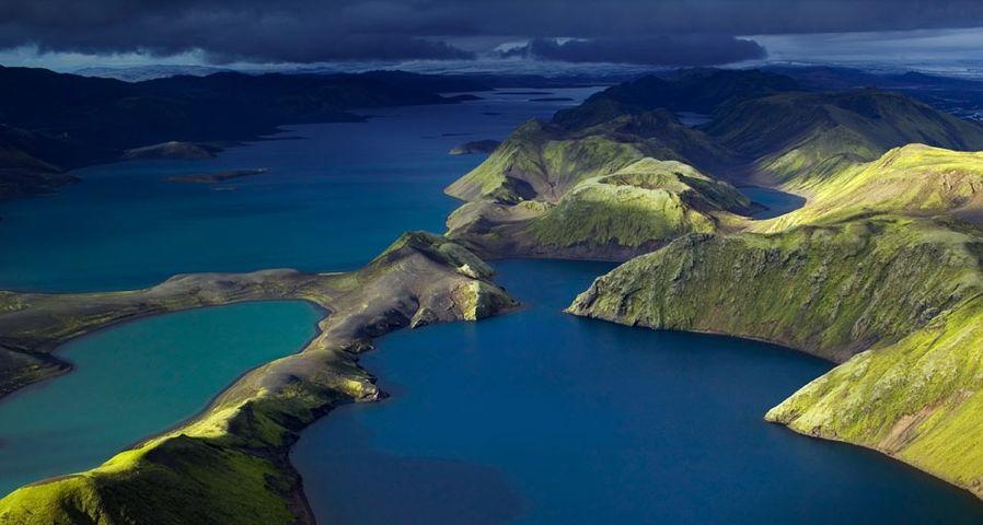 「ランギスヨゥル湖」アイスランド