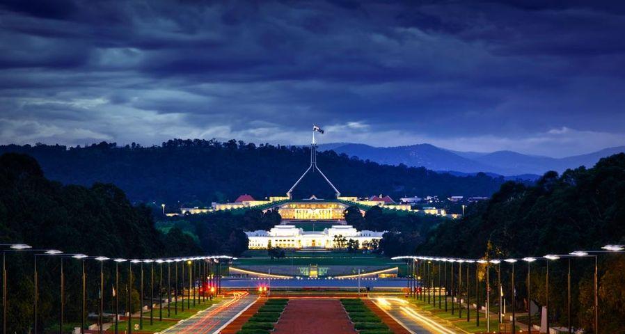 「新旧国会議事堂」オーストラリア, キャンベラ