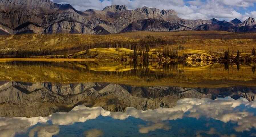 「タルボット湖」カナダ, アルバータ州, ジャスパー国立公園