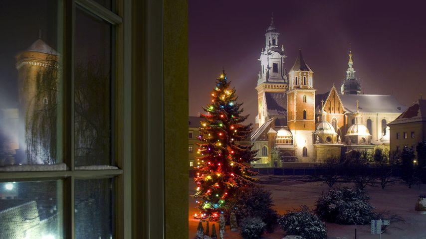 「ヴァヴェル城」ポーランド, クラクフ