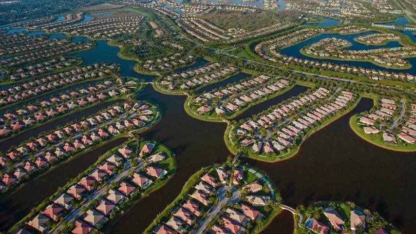 「パームビーチ」アメリカ, フロリダ州