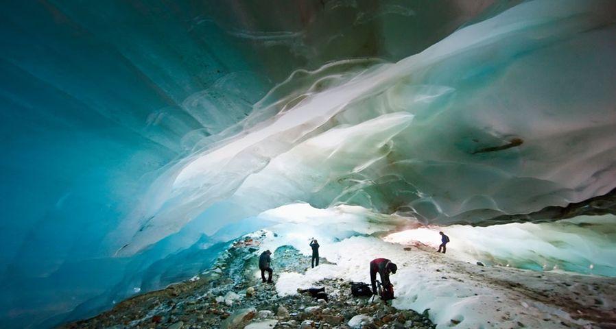 「アルベアルの氷の洞窟」アルゼンチン
