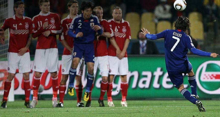 「FIFAワールドカップ2010 日本vsデンマーク戦」