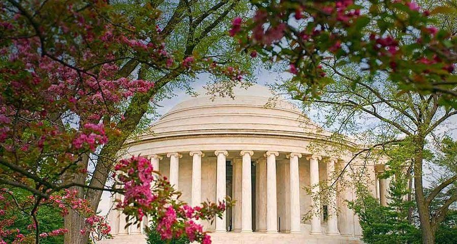 「ジェファーソン記念館」アメリカ, ワシントンDC
