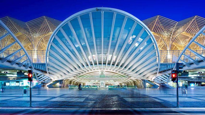 「オリエンテ駅」ポルトガル, リスボン
